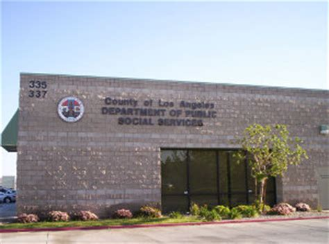 Office Relief Los Angeles County Department Of Social Services Lancaster