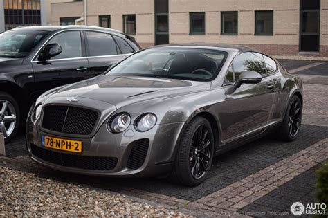 bentley sports coupe bentley continental supersports coup 233 4 juli 2016