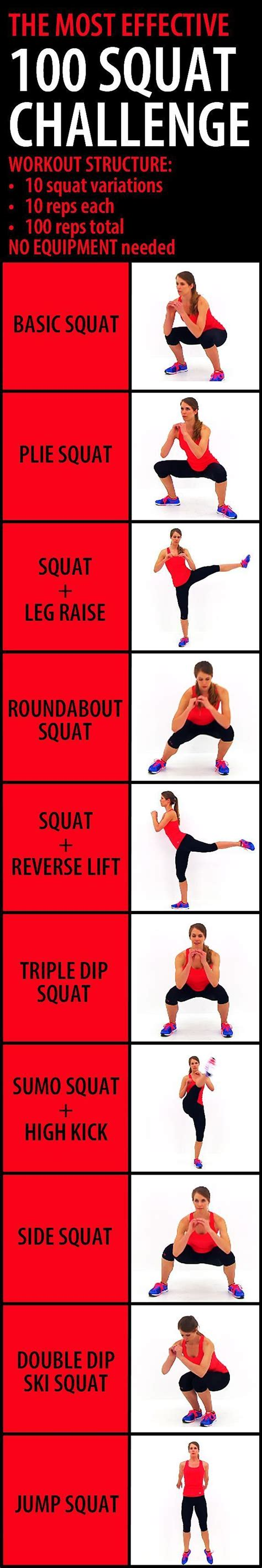 challenge result 25 best ideas about squat challenge results on