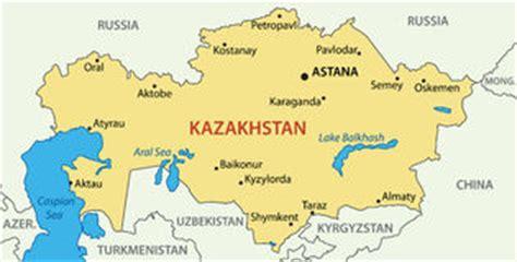 Letter Of Credit Kazakhstan De Kaart Kazachstan Stock Foto Afbeelding 31109480
