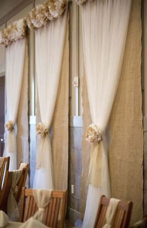 cheap burlap curtains burlap tulle and window on pinterest