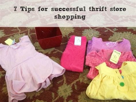 7 Tips For Thrift Shopping by 17 Best Images About Budget Savings Ideas On