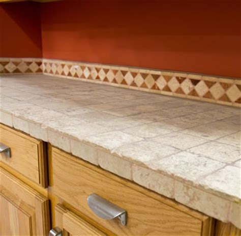 Tile Countertops Picture Improvementcenter Com Ceramic Tile Kitchen Countertops