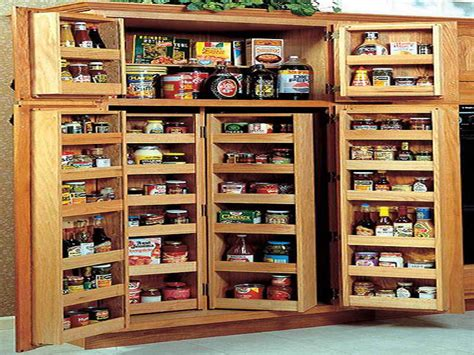 Free Pantry Plans a free standing pantry the storage cabinet ask home design