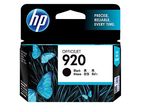 Cartridge Hp 920 Black Original Berkualitas hp ink cd971aa 920 black price in pakistan vmart pk
