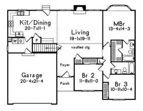 Floor Plans For Homes One Story Gallery For Gt Home Plans One Story