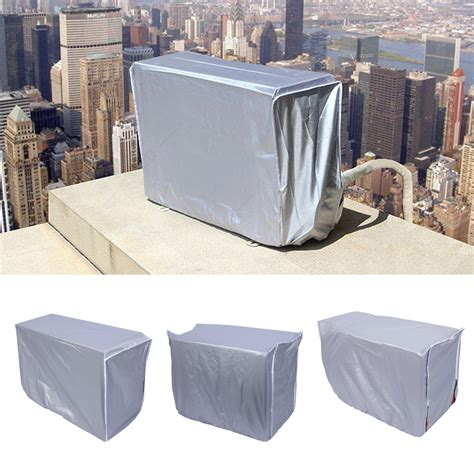 Waterproof Water Proof Sarung Anti Air Bingo outdoor air conditioner cover square dust proof anti snow waterproof sunproof zy ebay