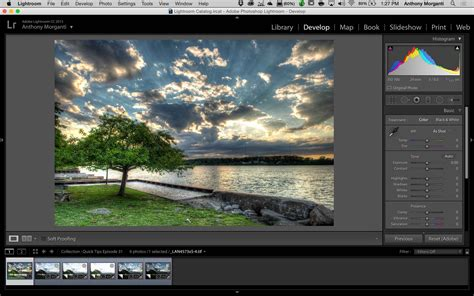 membuat watermark di photoshop lightroom learn lightroom 6 cc episode 17 hdr from a single