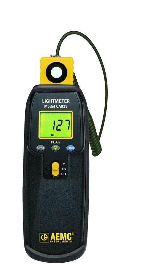 Light Level Meter aemc ca813 digital light level meter