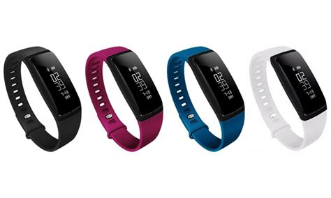 Fitness Tracker Watch with Blood Pressure and Heart Rate Monitor   Groupon