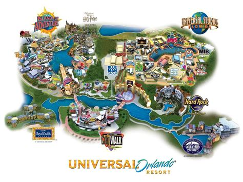 universal orlando map map of universal studios orlando universal map florida usa