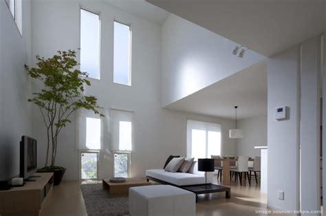 view interior of homes void pada ruangan keluarga arsindo