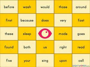 make your own bingo cards with words 25 best ideas about sight word bingo on