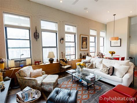 living room new york city west village loft luxury new york apartment 1 bedroom loft apartment rental in