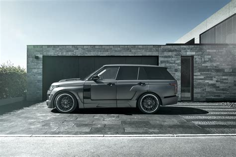 land rover hamann hamann range rover mystere gets wide body upgrade video