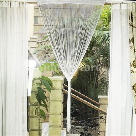 free shipping fringe window divider tassel hanging string