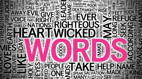 the power of words god s word has creative power
