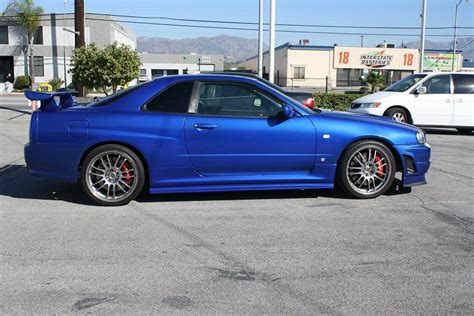 nissan skyline fast and furious 4 image r34 nissan skyline gt r replica used in fast and