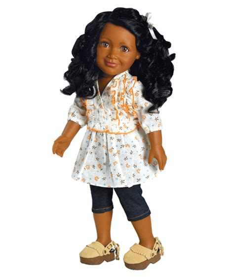 black dolls 18 inch american doll