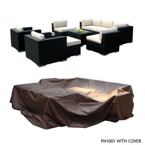 Large Patio Furniture Covers Outdoor Patio Wicker Furniture Patio Cover Large Upto 14 Pc