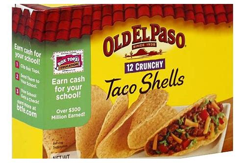 coupons taco shells