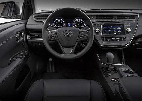 Avalon 2015 Interior by Toyota Avalon 2015 2016 Autoevolution