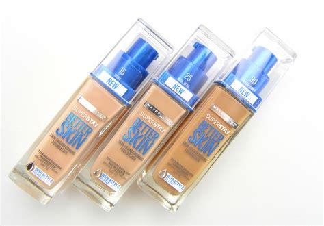 Maybelline Superstay Better Skin Foundation maybelline superstay better skin foundation review