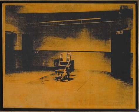 sedia elettrica andy warhol fino al 9 i 2005 the andy warhol show