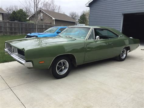 Green 1969 Dodge Charger 383 For Sale   Autos Post