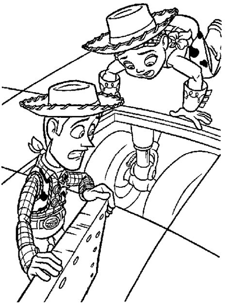 Toy Story 2 Story 2 Coloring Pages