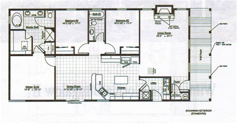 Floor Plan Blueprint Bungalow Floor Plan Interior Design Ideas