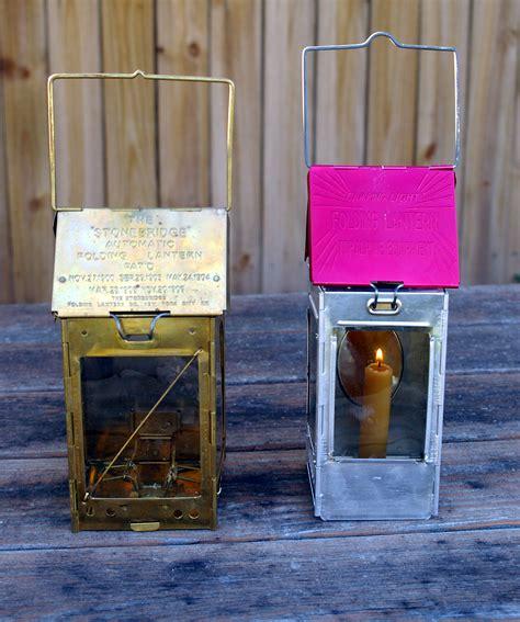 stonebridge automatic folding candle lantern