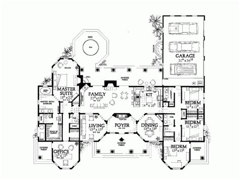15 Spectacular H Shaped Ranch House Plans Home Plans H Shaped Ranch House Plans