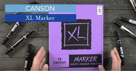 Canson Marker canson xl marker pads blick materials