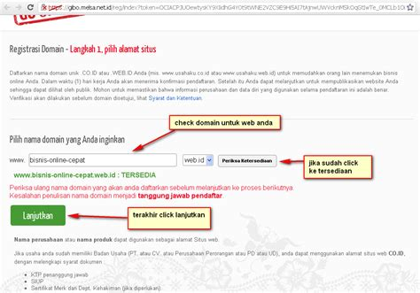 membuat web gratis co id cara membuat domain gratis co id web id