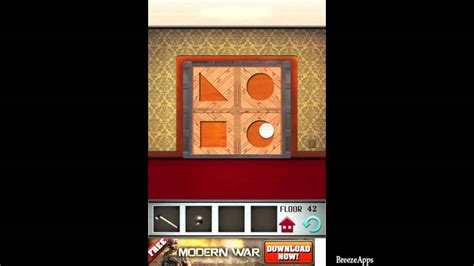 100 Floors Floor 56 Walkthrough by 100 Floors Level 42 Walkthrough 100 Floors Solution Floor