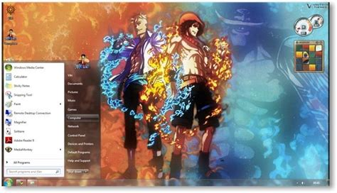theme windows 10 one piece one piece theme for windows 7 and 8 anime themes