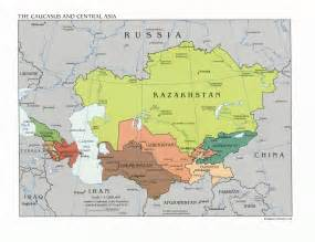 Map Central Asia by Hello From Kyrgyzstan Pronounced Kir Giz Stan Irma