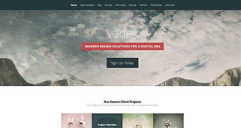 elegant themes gallery page vertex wordpress theme