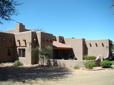 adobe style homes