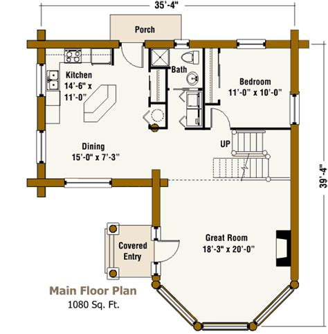 guest house floor plan guesthouse log home design by the log connection