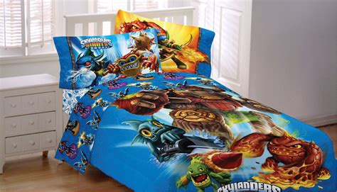 video game bed sheets 4pc skylanders giants spyro video game twin bedding set