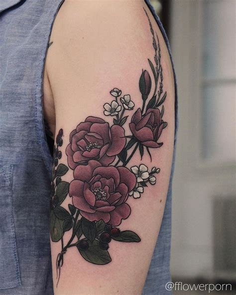 vintage flower tattoos best 25 vintage tattoos ideas on damask