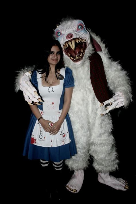 creepy cosplay thursday deeper   rabbit hole