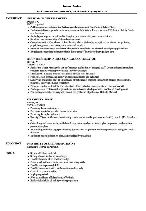 careerperfect healthcare nursing sample resume