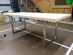 Solid Door Desk by Diy Desk 1 0 Solid Slab Door With Iron On Veneer