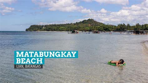 matabungkay resort map matabungkay littered memories in batangas