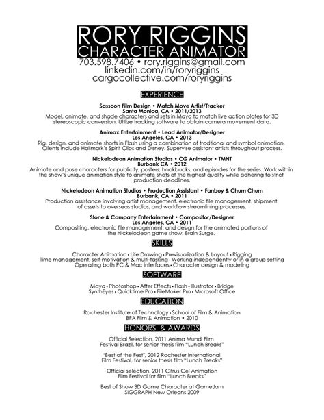 animator cover letter sle livecareer 3d animator cover letter sle the best resume and