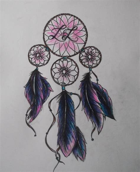 dreamcatcher design tattoo ideas on catcher