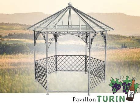 pavillon sechseckig pavillon metall gartenlaube gazebo turin ausgefallen